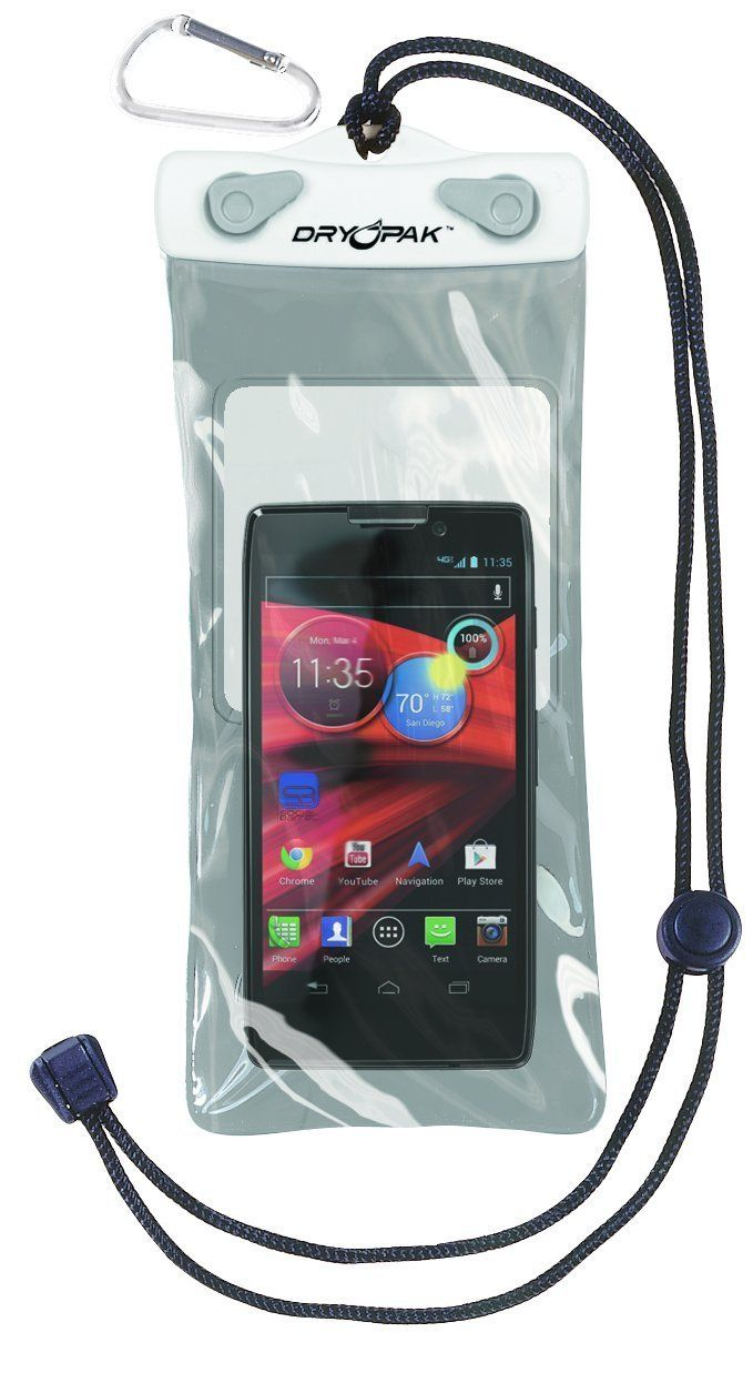 DRY PAK Dry Bag for iPhone, Android, Cameras, Cell Phone