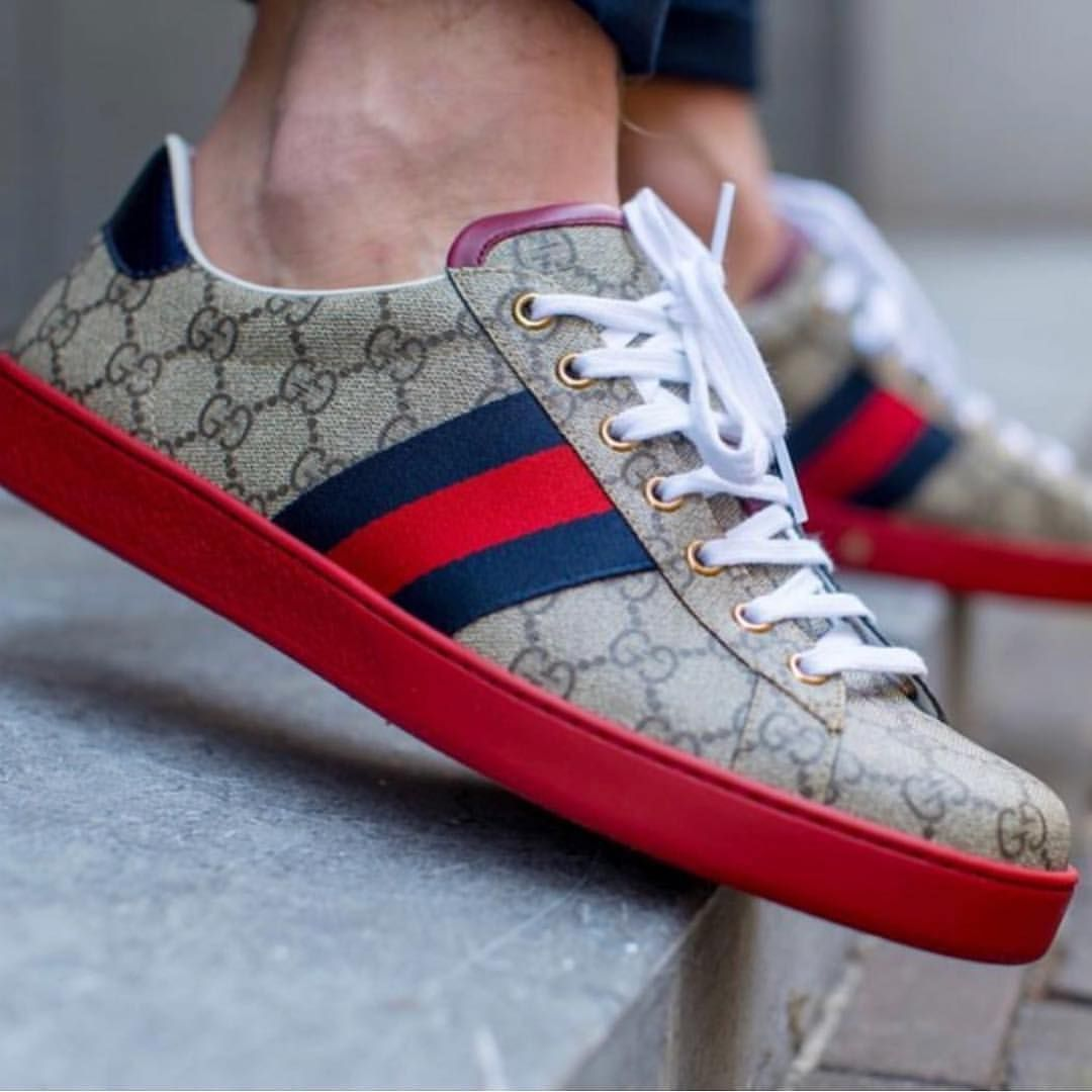 Gucci red bottoms #GUCCICOMMUNITY