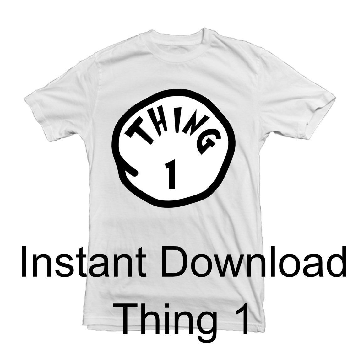 graphic regarding Thing 1 and Thing 2 Printable Iron on Transfer titled Point 1 Point 2 Detail 3- Printable Iron Upon - Do-it-yourself Disney