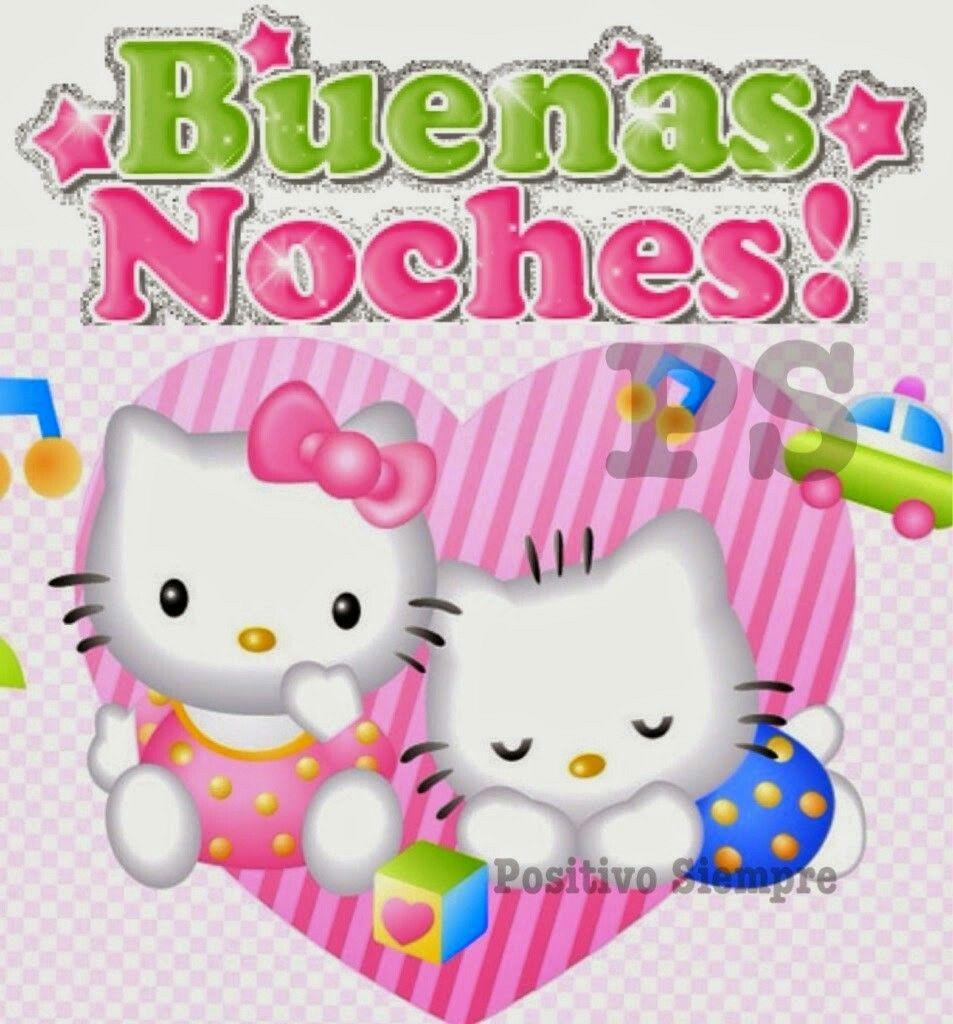 Hello Kitty Buenas Noches Buscar En Google Buenas
