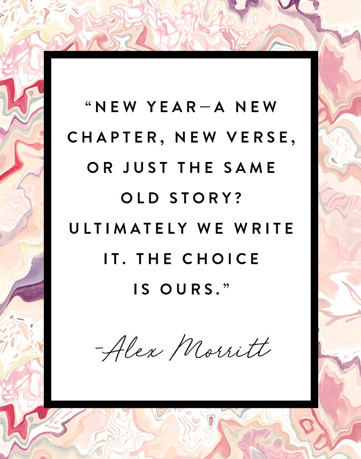 New Year - a new chapter, new verse, or just the same old story ...