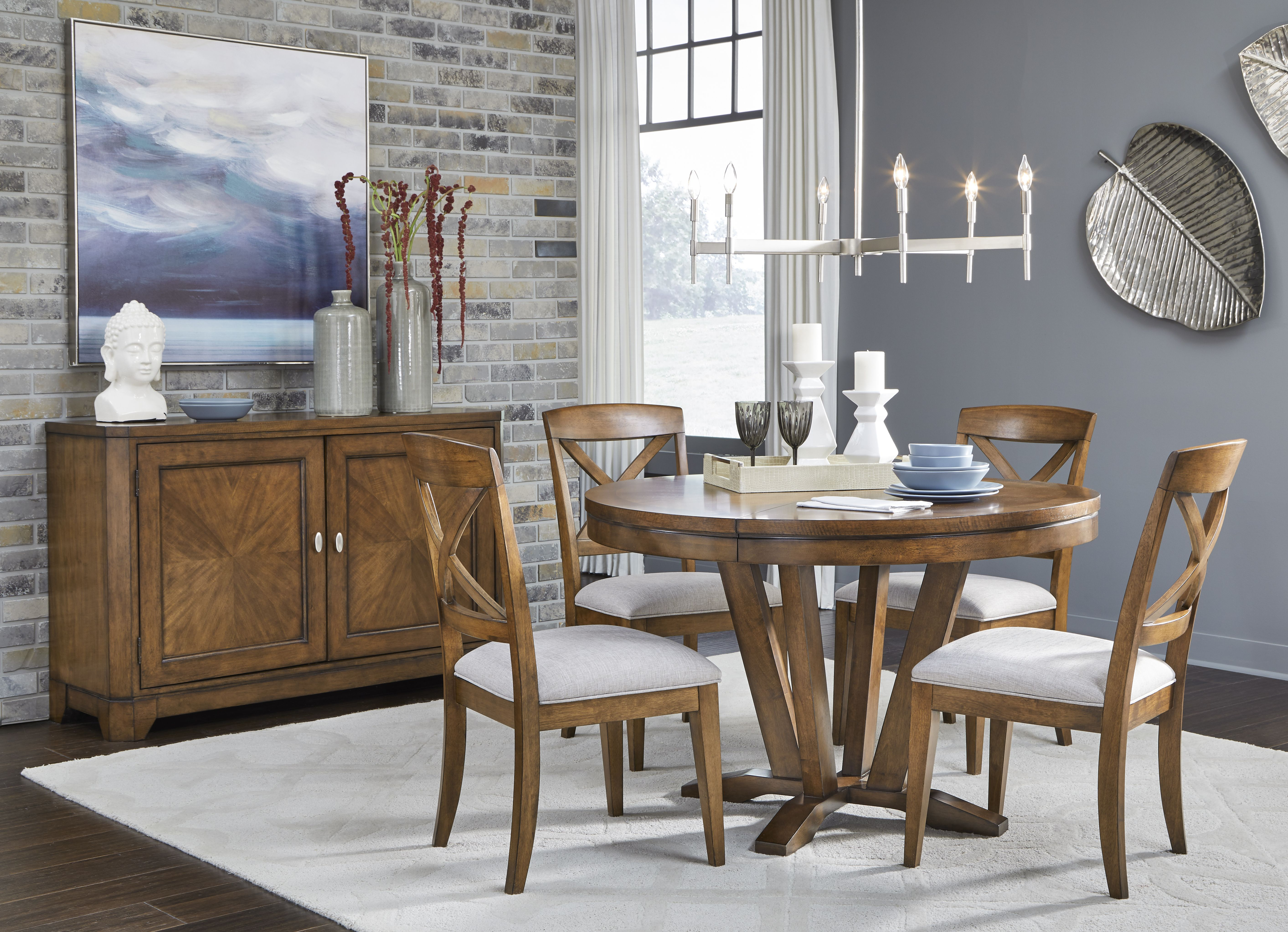 The Highland Dining Collection Legacy Classic Furniture Highland Legacyclassic Diningr Round Dining Room Sets Round Dining Room Legacy Classic Furniture Dining rooms legacy classic
