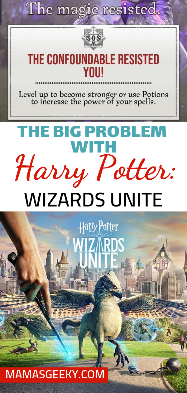 The Big Problem With Harry Potter Wizards Unite Mama S Geeky Harry Potter Wizard Harry Potter Potter