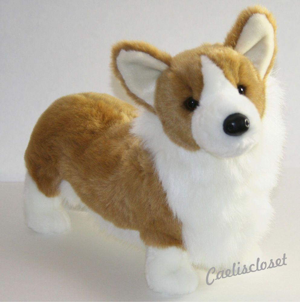 Douglas Chadwick Corgi Large 19 Plush Dog Stuffed Animal Cuddle Toy New Dog Stuffed Animal Plush Dog Corgi