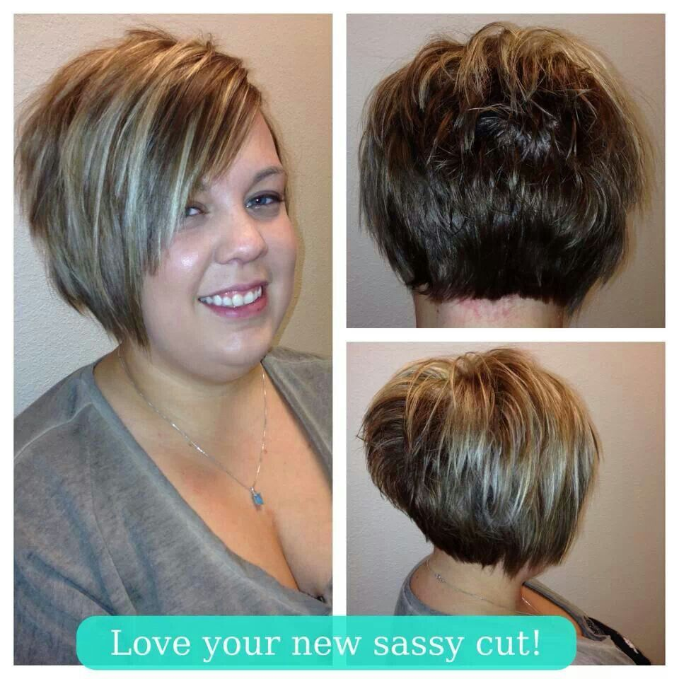Cute-I am LOVING this cut and so tempted to chop my hair off.....but it's so long I don't know what to do...