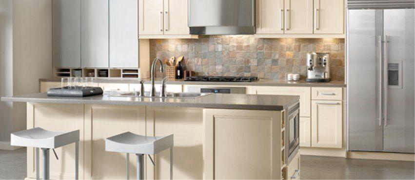 Island Layout One Wall Kitchen Beautiful Kitchen Cabinets Kitchen Layout