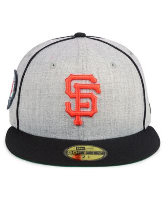 best service aa7a4 27c2a New Era San Francisco Giants Stache 59FIFTY Fitted Cap - Gray 7 1 4