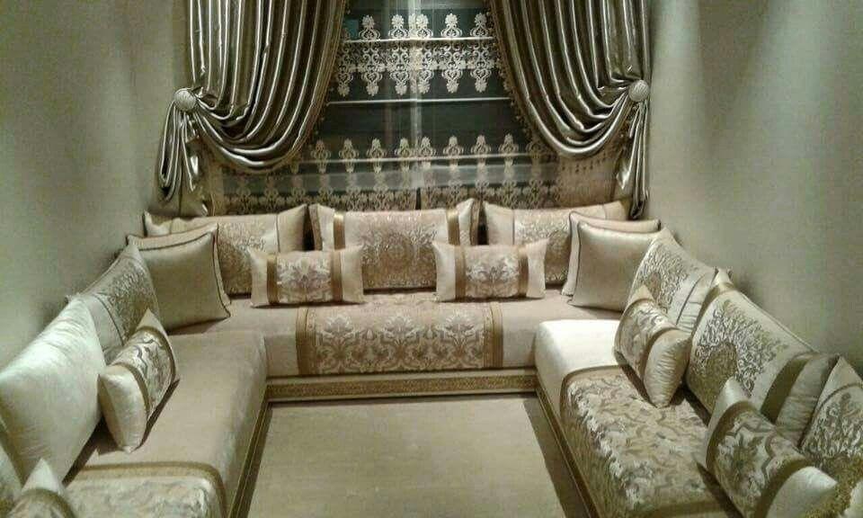Aménagement salon marocain | Salon marocain | Pinterest | Salons ...