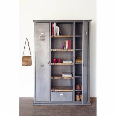 Industriële Boekenkast Metal Big Huis Living Room