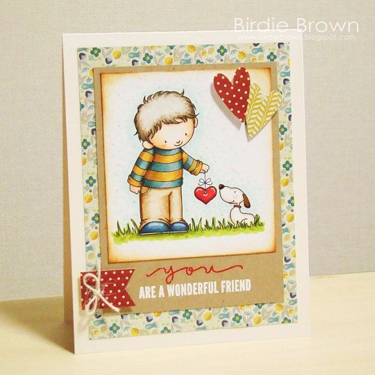 Digital stamp -- Furever Love. $2.50, via Etsy.