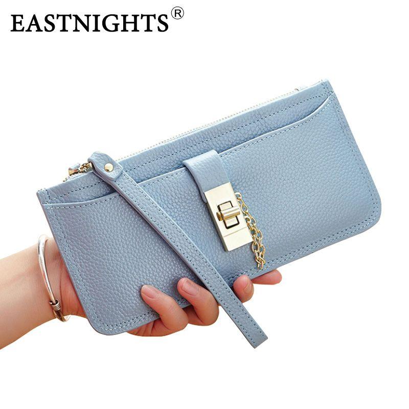 Badiya Womens wallet Tassel Pendant Genuine Leather Credit Card Holder 26 Slots