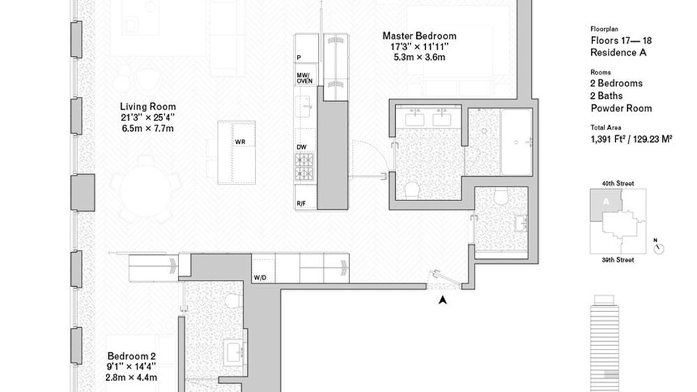 See floorplans for david chipperfields bryant park condos