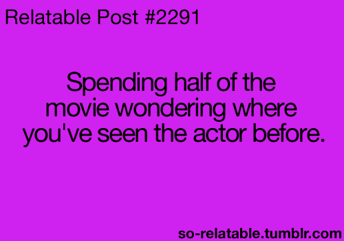 Then looking it up on IMDb