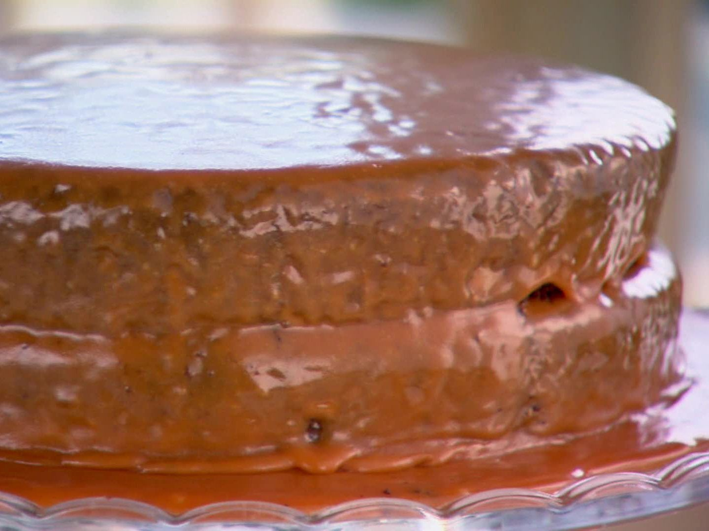 Lizzies Old Fashioned Cocoa Cake With Caramel Icing Recipe