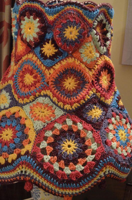 Tutti-fruity Crochet Lampshade | crochet | Pinterest | Rund ums haus ...