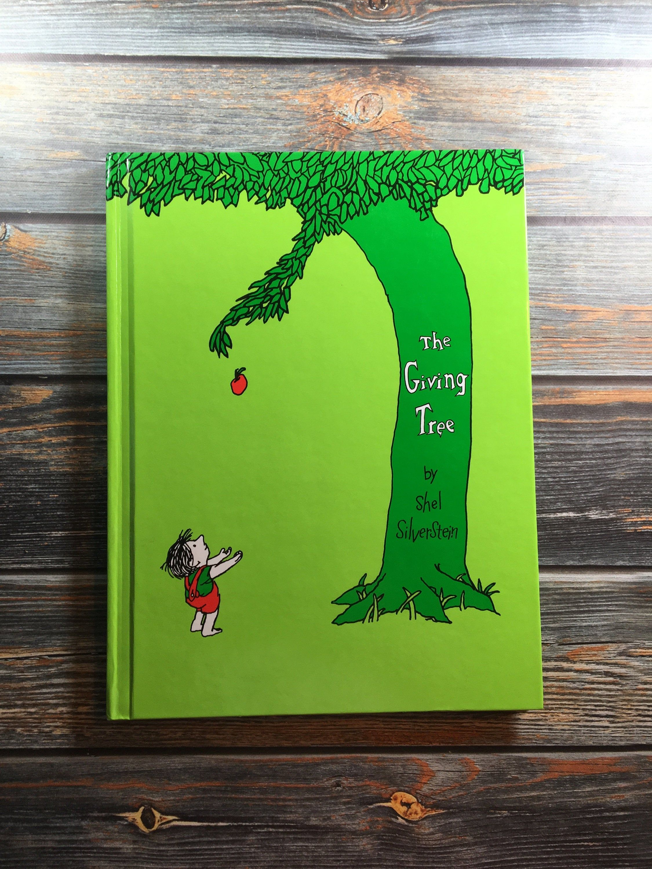 1992 The Giving Tree Shel Silverstein Classic Etsy Shel Silverstein Kids Story Books The Giving Tree