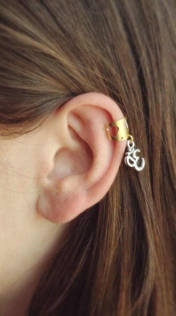 Boho Ear Cuff Silver Ear Cuff Buddha Ear Wrap Yoga Ear Cuff Buddha Ear Cuff Turquoise Buddha Ear Cuffs Buddha Earrings