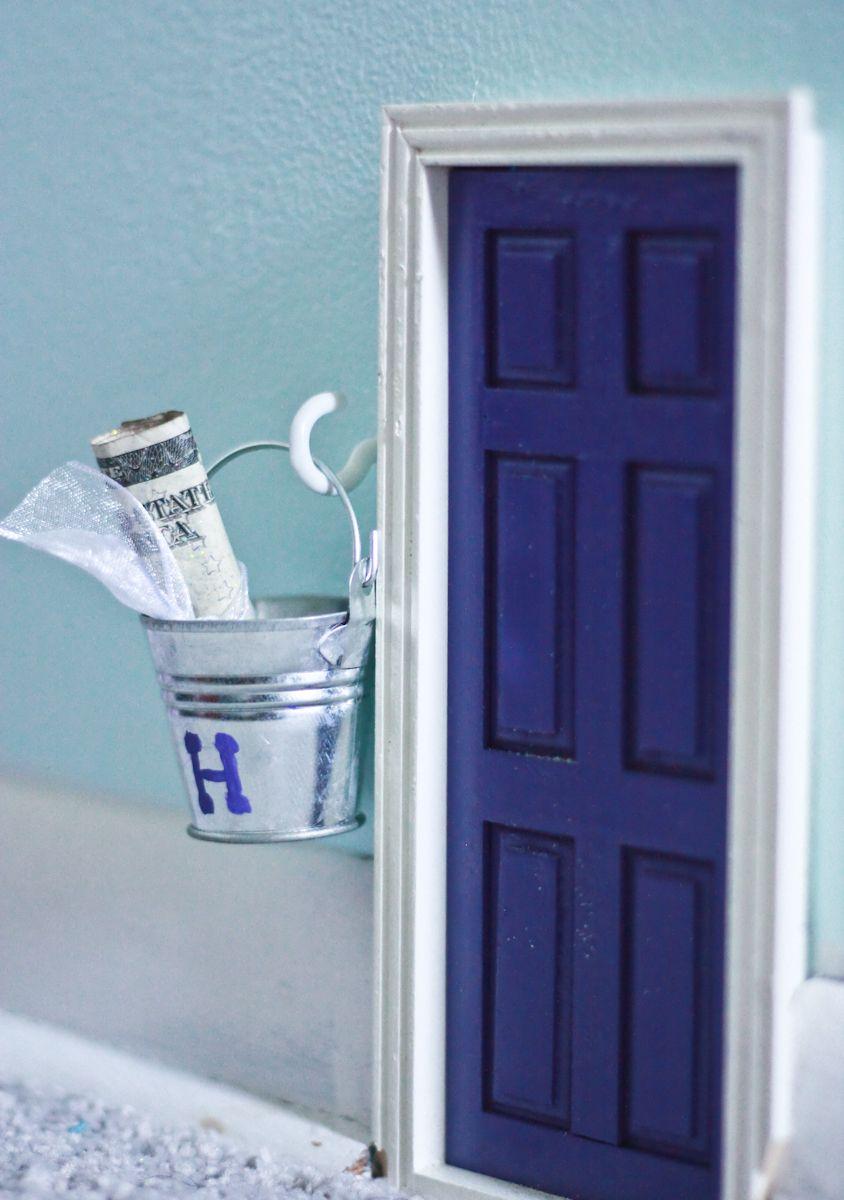 Tooth fairy door the fairy door fits right in with the for Tooth fairy door