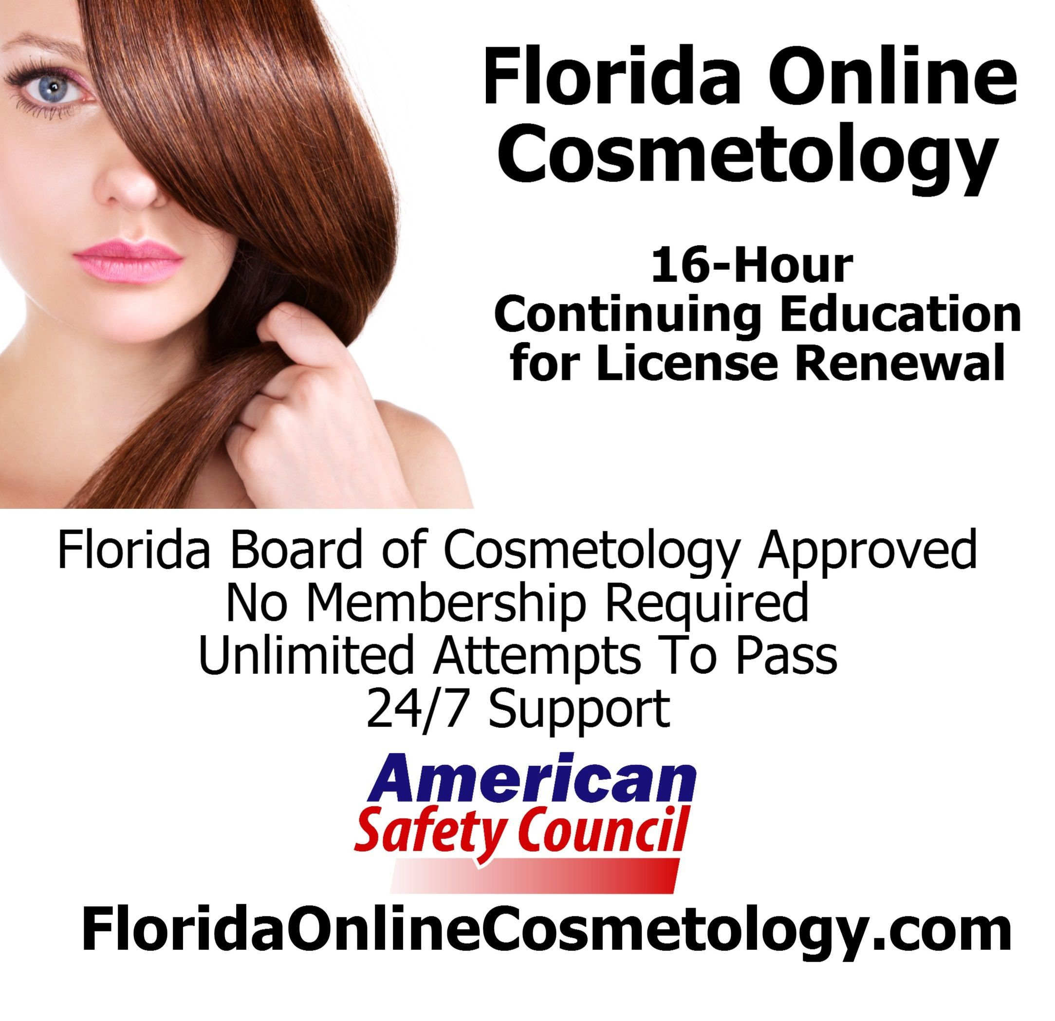 Florida cosmetology continuing education course online