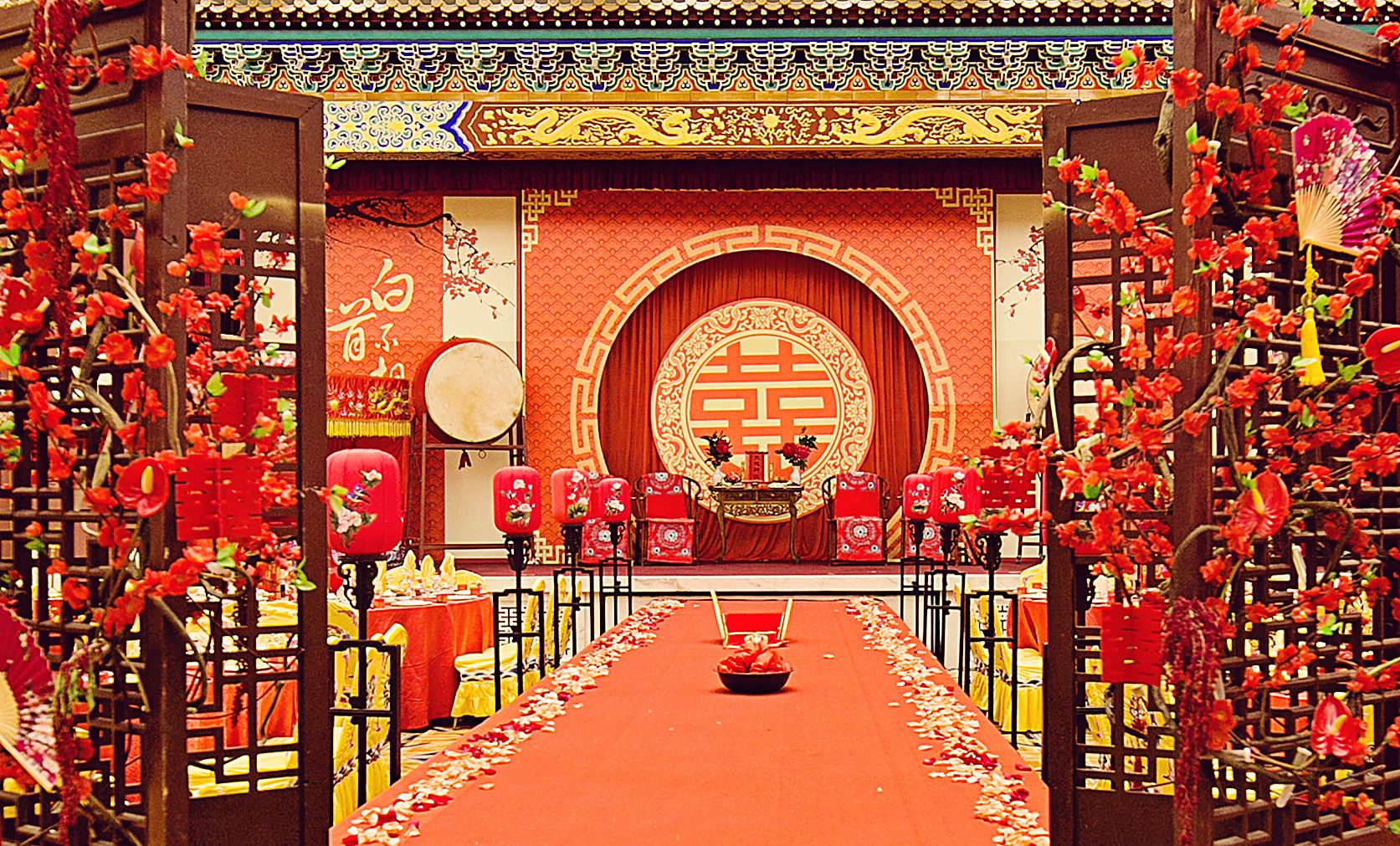 China Wedding Decorations: Pin By Mengmeng On Chinese Wedding