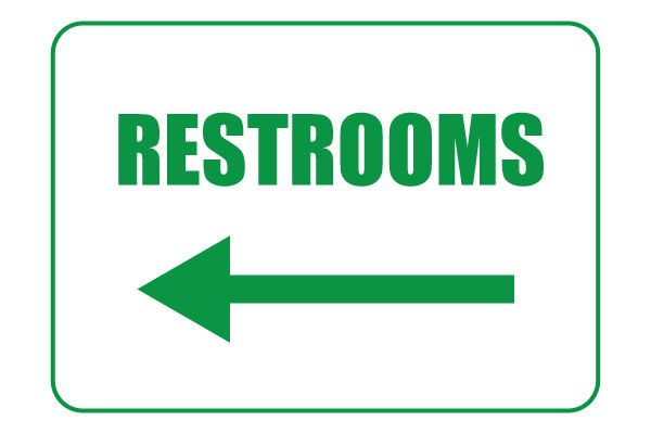 picture relating to Printable Restroom Signs titled Pin upon Cost-free Printable Symptoms