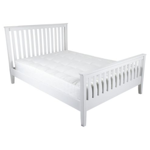 southwold double bed frame white