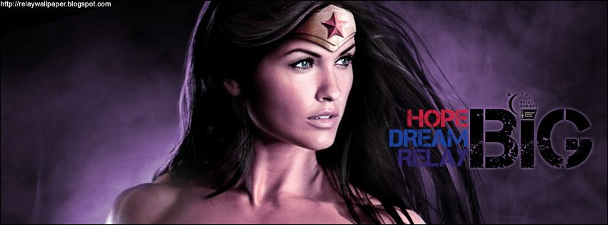 relay for life facebook cover | Wonder Woman Relay For Life