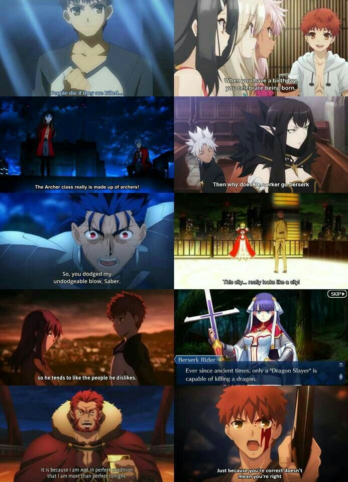 Just because its memes doesnt mean its a memes Fate stay