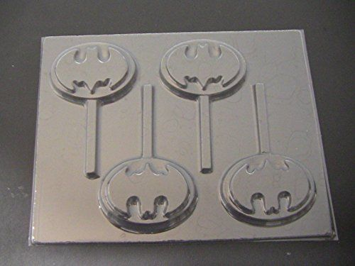 Capeman Emblem Chocolate Candy Lollipop Mold Batman *** See this great product.