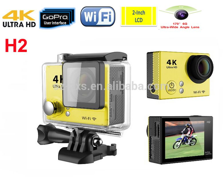 2 0 inch Screen Ultra HD 4K Sport Action Camera with WiFi