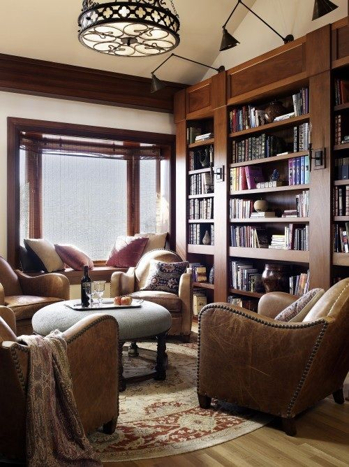 Library Study Room Ideas: Home Library Rooms, Home Library