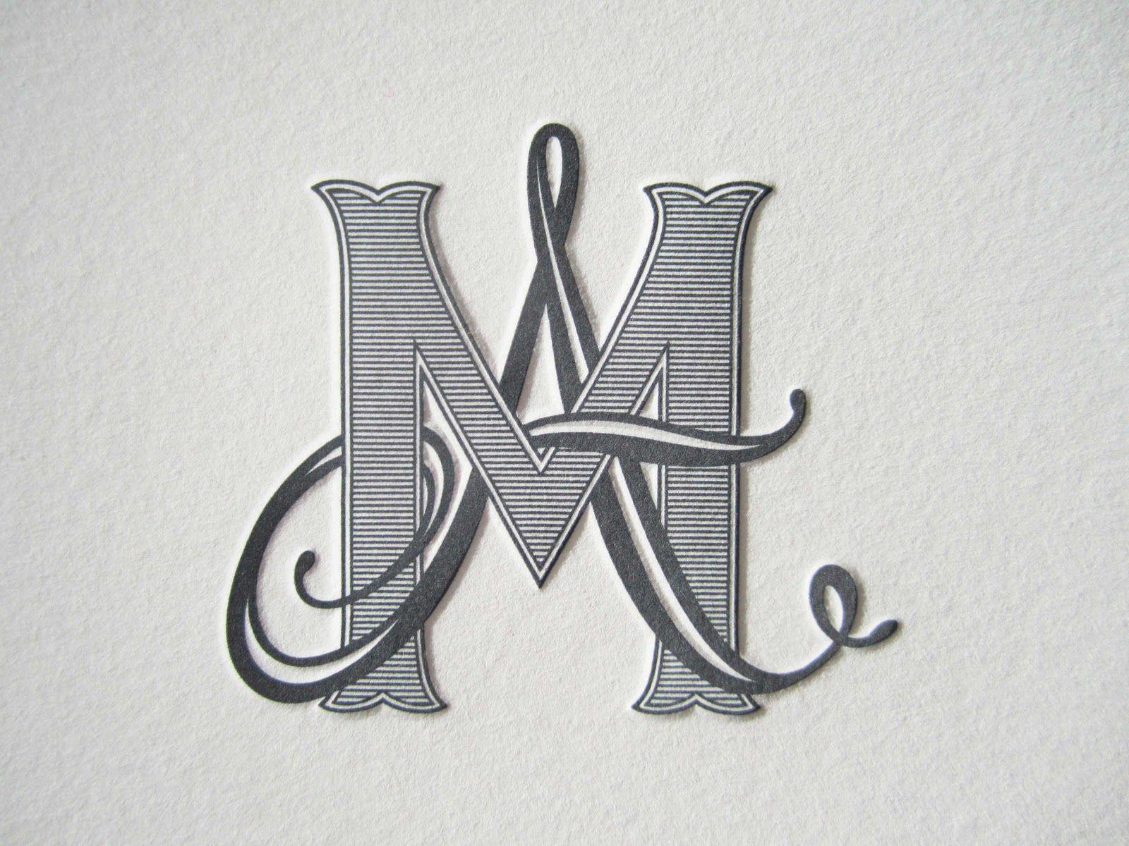 monograms Annie & Marc's custom monogram Monograma