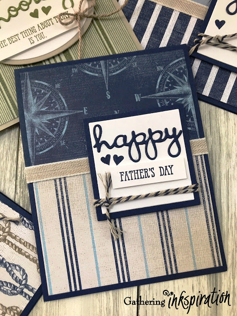 Come Sail Away & Well Said Masculine Card