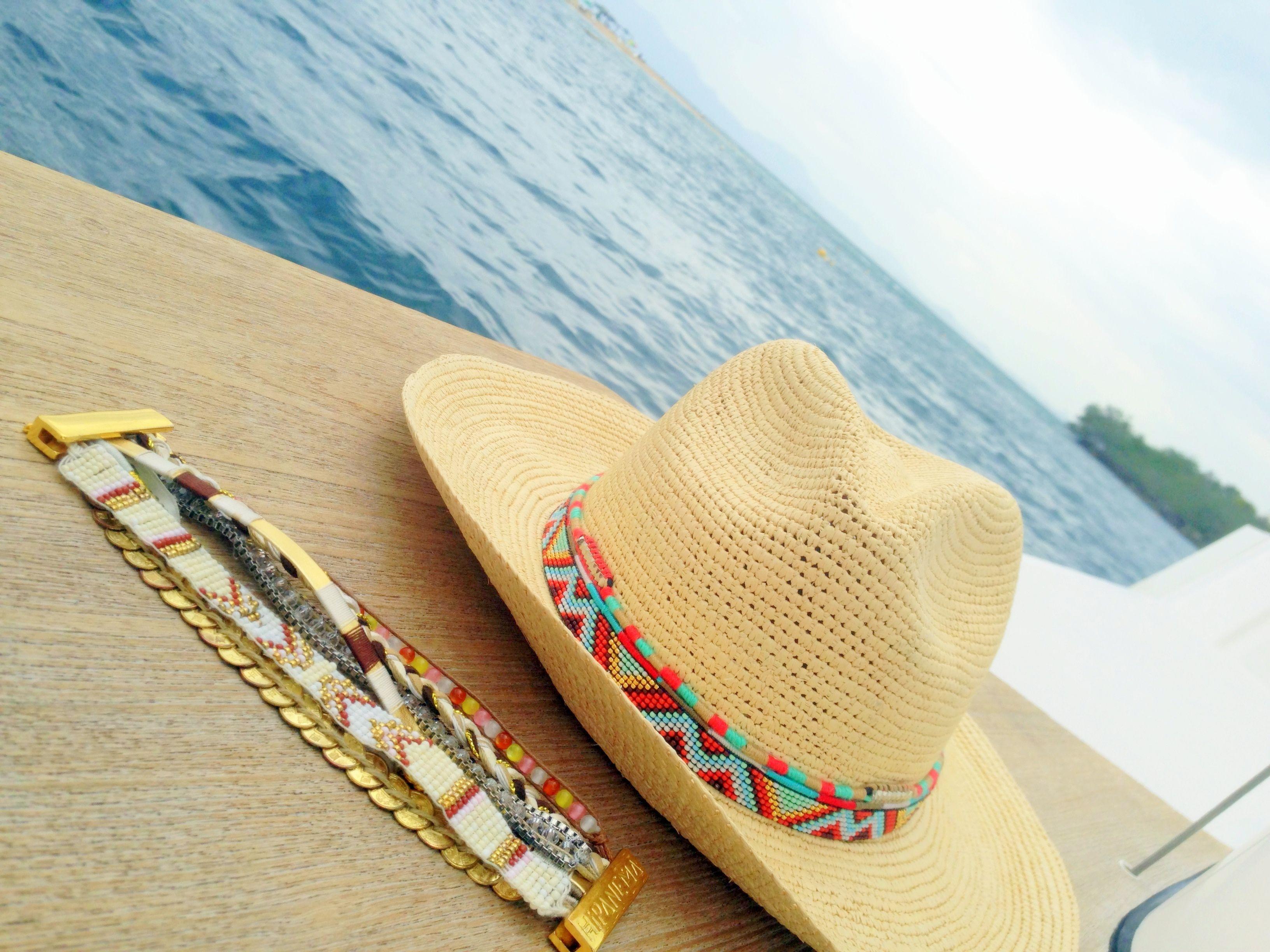 007579bb20d24 Panama Hat + bracelet by Hipanema - at Nueve Musas Musa