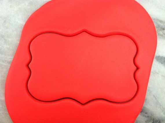 Cupcake Cookie Cutter Outline #2 CHOOSE YOUR OWN SIZE!