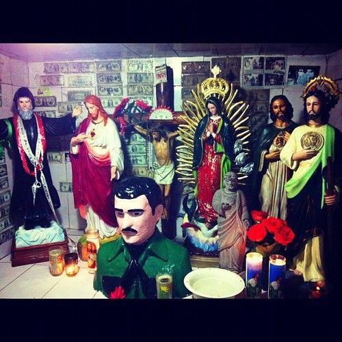 Jesus Malverde Viva Mexico