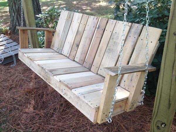 Porch Swings Wooden Custom Made Wood Porch Swing Diy