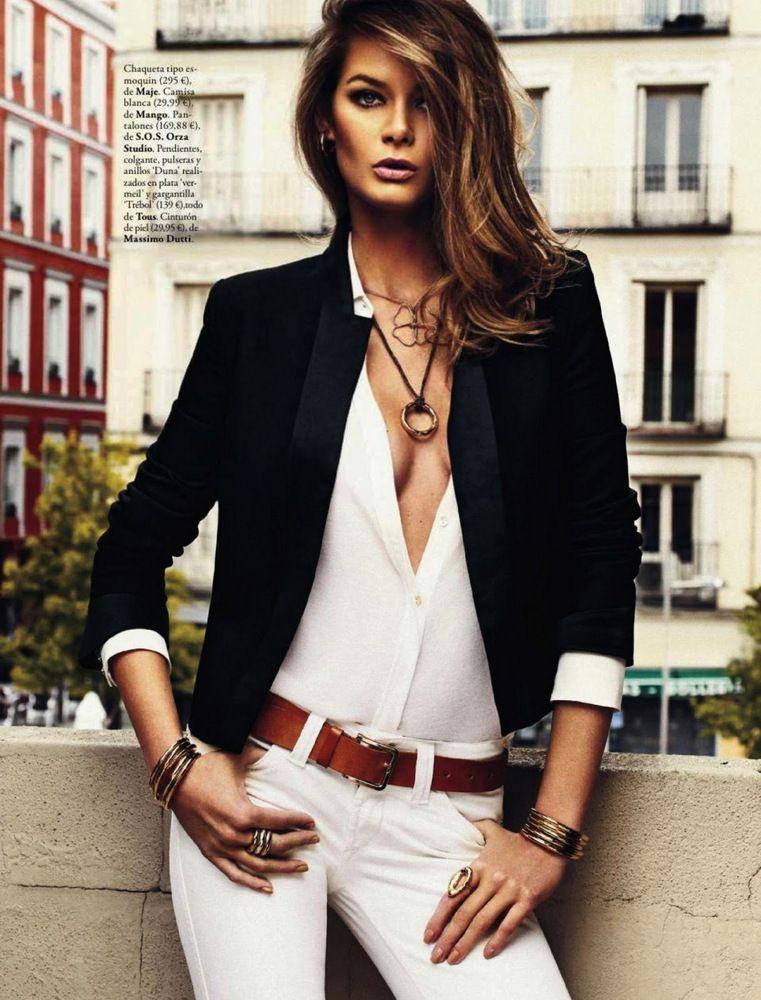 THE SHARPER: Flavia De Oliveira by Xavi Gordo for Elle Spain July 2013