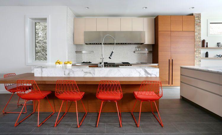 george residence interior kitchen