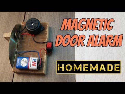 How to make a Door Alarm - Theft alert Alarm - YouTube  sc 1 st  Pinterest & How to make a Door Alarm - Theft alert Alarm - YouTube | home ...