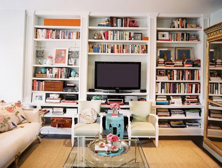 Built In Fireplace Bookshelves Home Design Ideas
