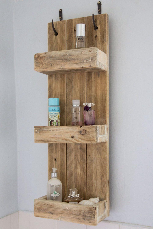 D co en palette de bois dans la salle de bain 15 id es for Dans la salle de bain de