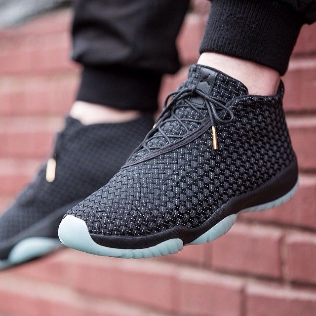 Big Discount Nike Air Jordan Future Glow Black White