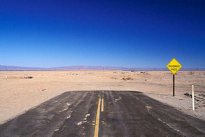 End Of The Road For The Home Salton Sea Salton Sea