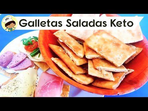 Galletas Saladas Keto Cetogenicas Low Carb Bajas En