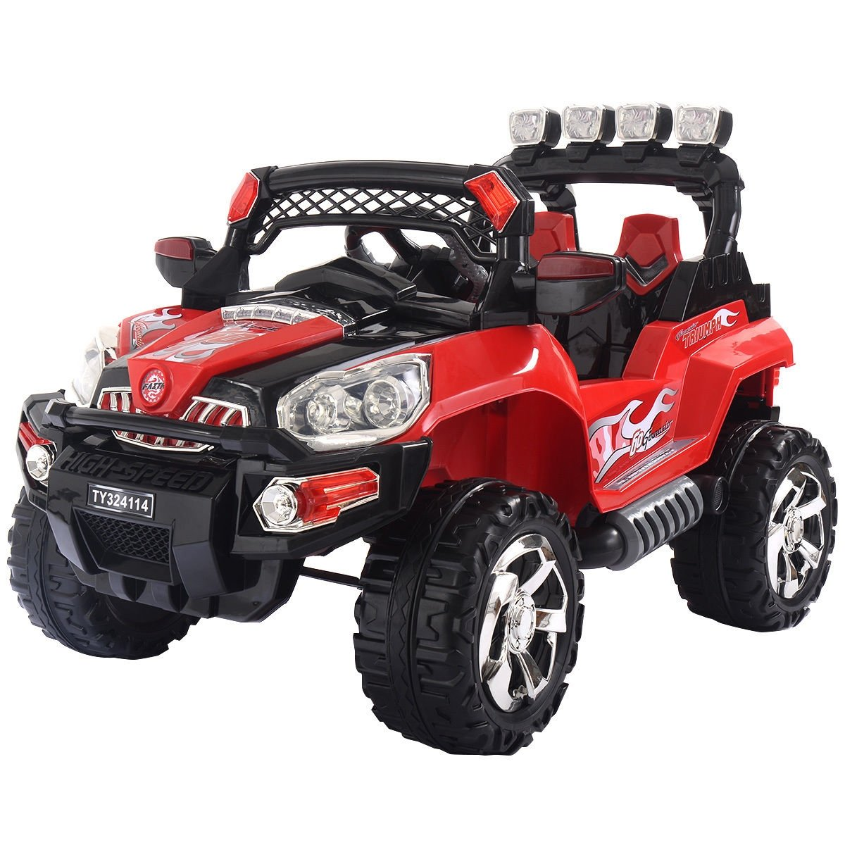 12V Kids Ride On Truck Car SUV RC Remote Control w/LED