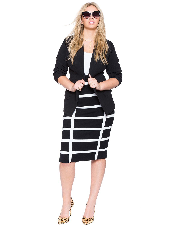 Plus Size Open Suit Jacket Plus Size Jacket Plus Size Fashion