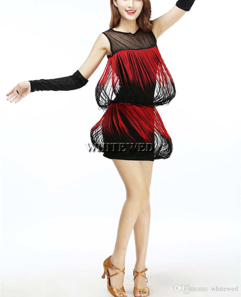 Fringe Trim 1920S Dance Formal Tank Top Flapper Costume Dress