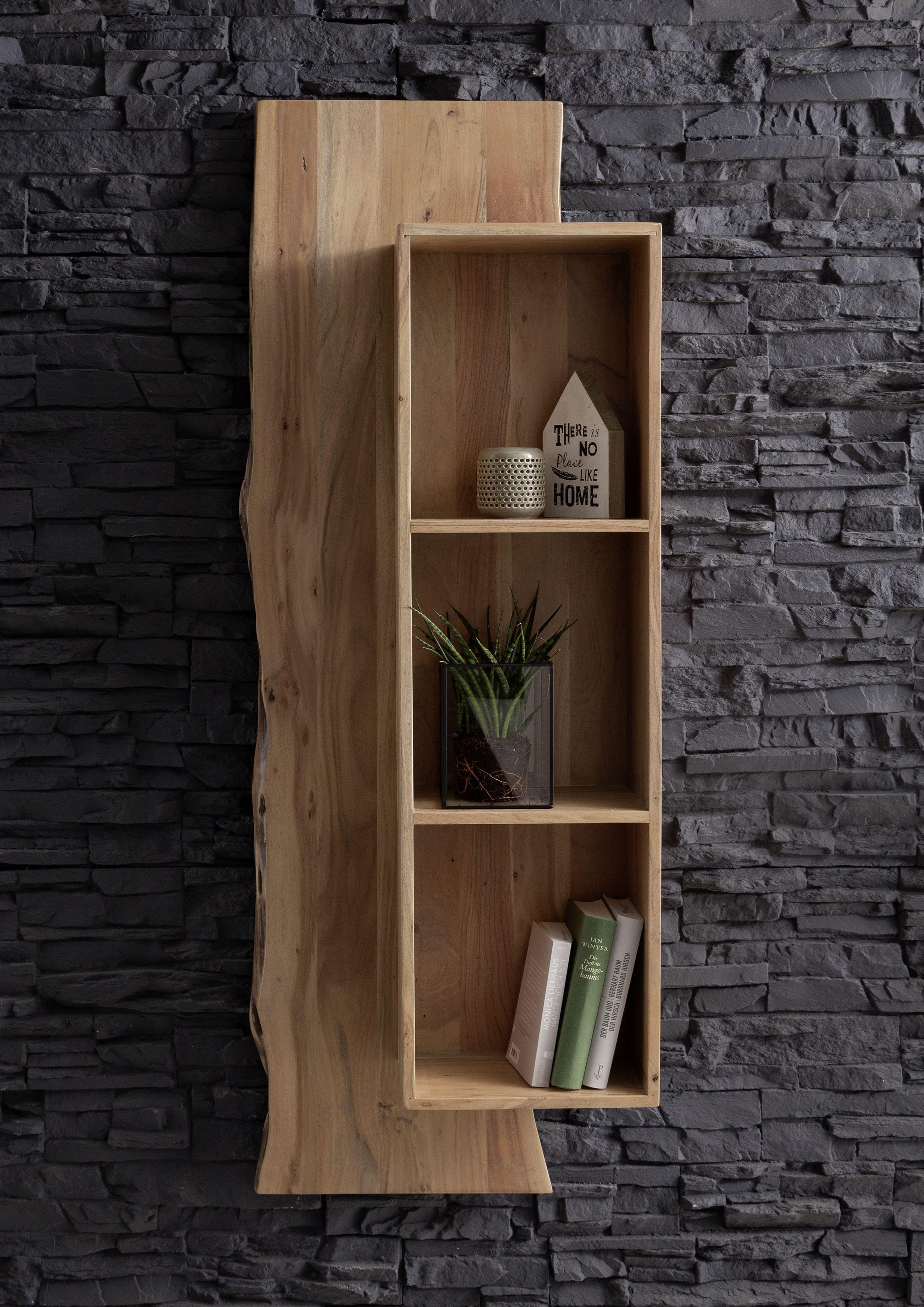Baumkanten Design Live Edge Akazie Massivholz Wohnzimmermobel