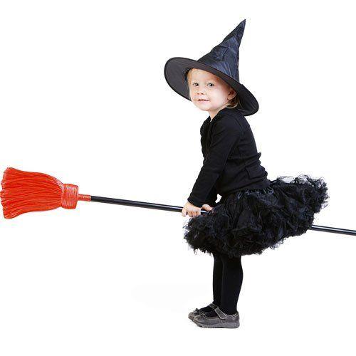 Disfraz de Bruja para bebés en Halloween - Ideas para disfraces de